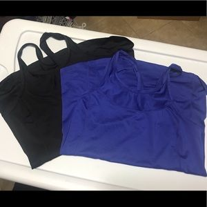 2 Old Navy active go dry workout racerbacks